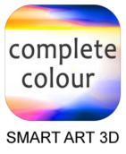 Complete Colour APP logo plus title