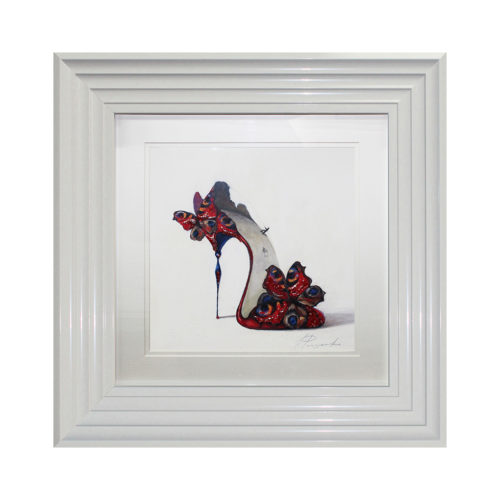 IG6834kLA Butterfly Shoe V Liquid Art
