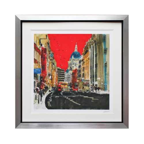 SB004 St Pauls (Red) - Susan Brown Ltd Ed