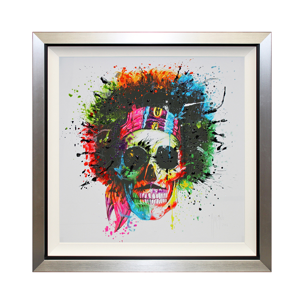 CC403LA Woodstock Skull Lquid Art