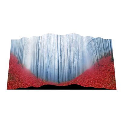CVCU2020-720 CURVO Winter Trees in Red